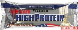 40% High Protein Low Carb Bar - jahoda, 50 g